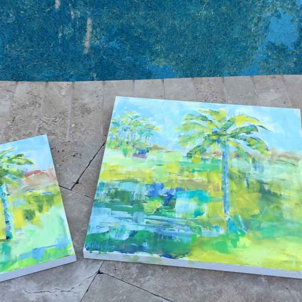 Pamela Wingard Palm Trees Collection